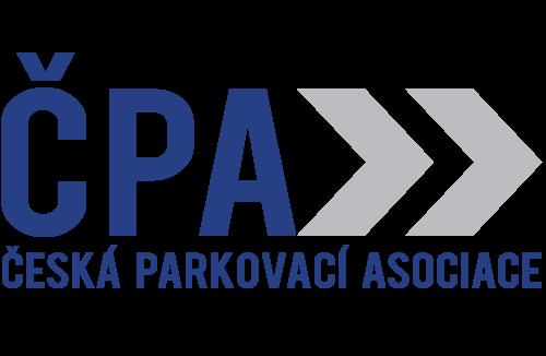 Logo České parkovací asociace