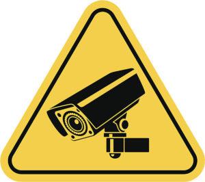 Značka sledovací kamery